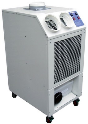 KCA 23 portable air conditioners suitable for larger commercial applications up to 100 sq metres and spot cooling